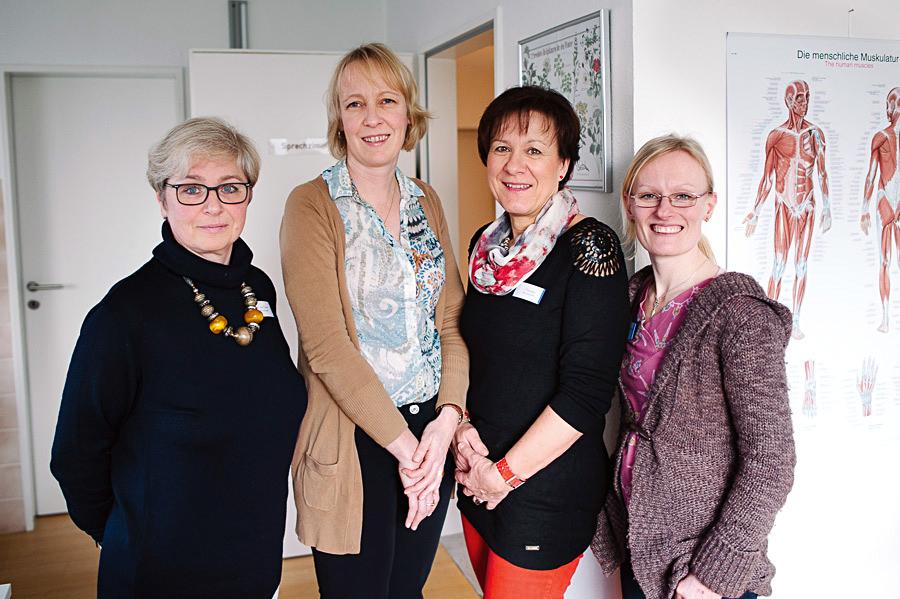 Team der Hausarztpraxis am Kreideberg in Lüneburg